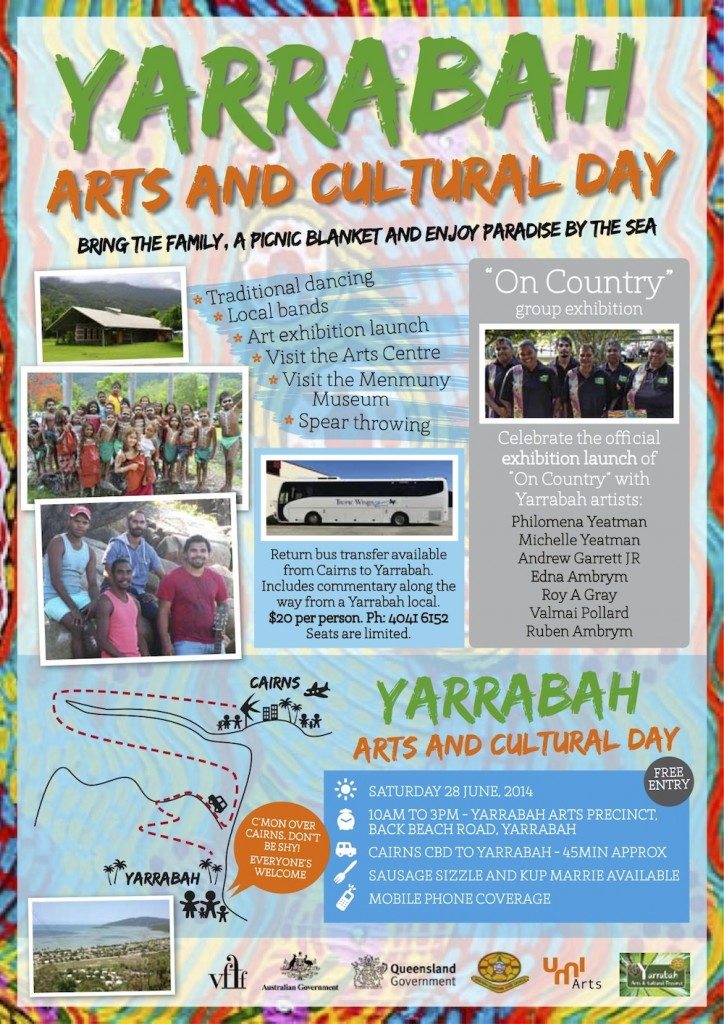 Yarrabah Culture Day A4 flier5
